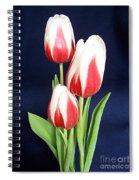 Three Tulips Spiral Notebook