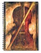 Three Violins Spiral Notebook