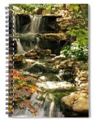 Three Water Falls Spiral Notebook