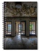 Three Way Entrance  Spiral Notebook