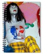 Three Women Spiral Notebook