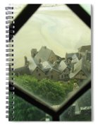 Through A Window To The Past Spiral Notebook