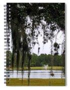 Through Live Oak Tree Spiral Notebook