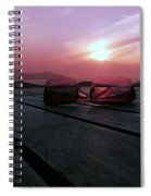 Through Rose Coloured Glasses  Spiral Notebook