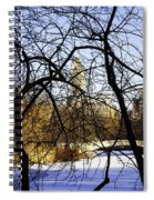 Through The Branches 3 - Central Park - Nyc Spiral Notebook