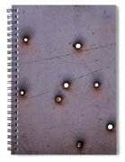 Through The Bullet Holes Spiral Notebook