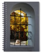 Through The Fence Window Spiral Notebook