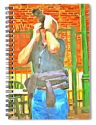Through The Glass  Spiral Notebook