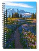 Through The Golden Meadows Spiral Notebook