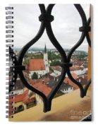 Through The Grates Spiral Notebook