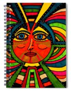 Through The Prism Of The Sun Spiral Notebook