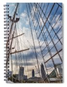 Through The Rigging Spiral Notebook