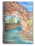 Through The Rock Window Spiral Notebook