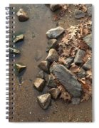 Through The Rocks To The Lake Spiral Notebook
