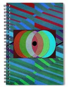 Through The Roof Spiral Notebook