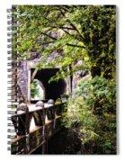 Through The Tunnel Spiral Notebook
