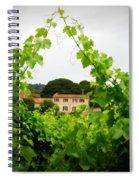 Through The Vines Spiral Notebook
