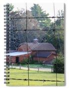 Through The Webs Spiral Notebook