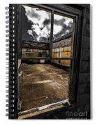 Through The Window Spiral Notebook