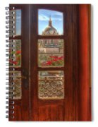 Through The Window Spiral Notebook