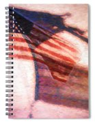Through War And Peace Spiral Notebook