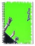 Throw Spiral Notebook