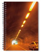 Thru The Tunnel Spiral Notebook
