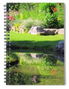 Thula Garden's Water Reflections Spiral Notebook