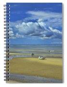 Thumpertown Beach Lowtide Spiral Notebook