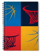 Thunder Ball And Hoop Spiral Notebook