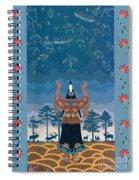 Thunder Girl II Spiral Notebook