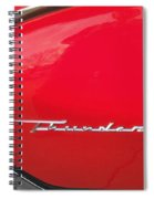 Thunderbird Roads Spiral Notebook