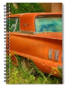 Thunderbird Rusting In Peace Spiral Notebook
