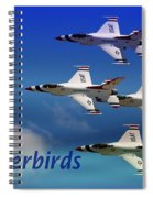 Thunderbirds Spiral Notebook