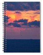 Thundering Sunset Spiral Notebook