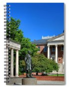Thurgood Marshall Memorial And Maryland State House Spiral Notebook