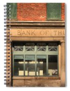 Thurmond Bank Of West Virginia Spiral Notebook