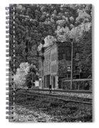 Thurmond Wv Monochrome Spiral Notebook