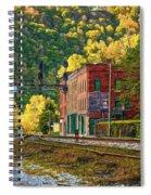 Thurmond Wv - Paint Spiral Notebook