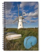 Thurne Dyke Windpump Norfolk Spiral Notebook