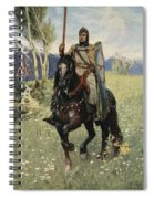 Thus It Was That Parsifal Began Spiral Notebook