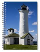Tibbetts Point Lighthouse Spiral Notebook