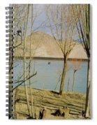 Tibet Lake Burial Spiral Notebook