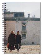 Tibet Monks 6 Spiral Notebook