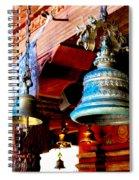 Tibetan Bells Spiral Notebook