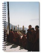 Tibetan Monks 2 Spiral Notebook