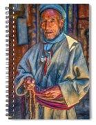 Tibetan Refugee - Paint Spiral Notebook