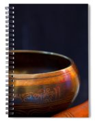 Tibetan Singing Bowl Spiral Notebook
