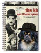 Tibetan Spaniel Art - The Kid Spiral Notebook
