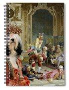 Tibetan Terrier Art Canvas Print Spiral Notebook